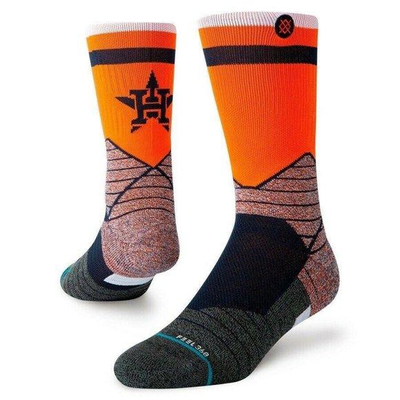 NWT Stance MLB Houston Astros Pro HTown Crew Socks